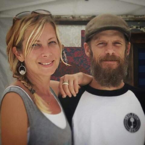 Stephanie and Matt of Punk Rock Fish Studio (Photo: Punk Rock Fish Studio)