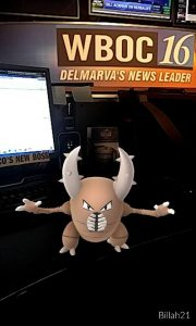 Pokemon Pinsir at Bill's Desk (BMich)