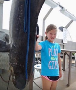 9 year old Emma Zajdel from Ocean City Tells Her Record Breaking Fishing Story YouTube