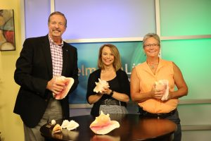 Jimmy, Lisa and ____ with ___'s conch shells