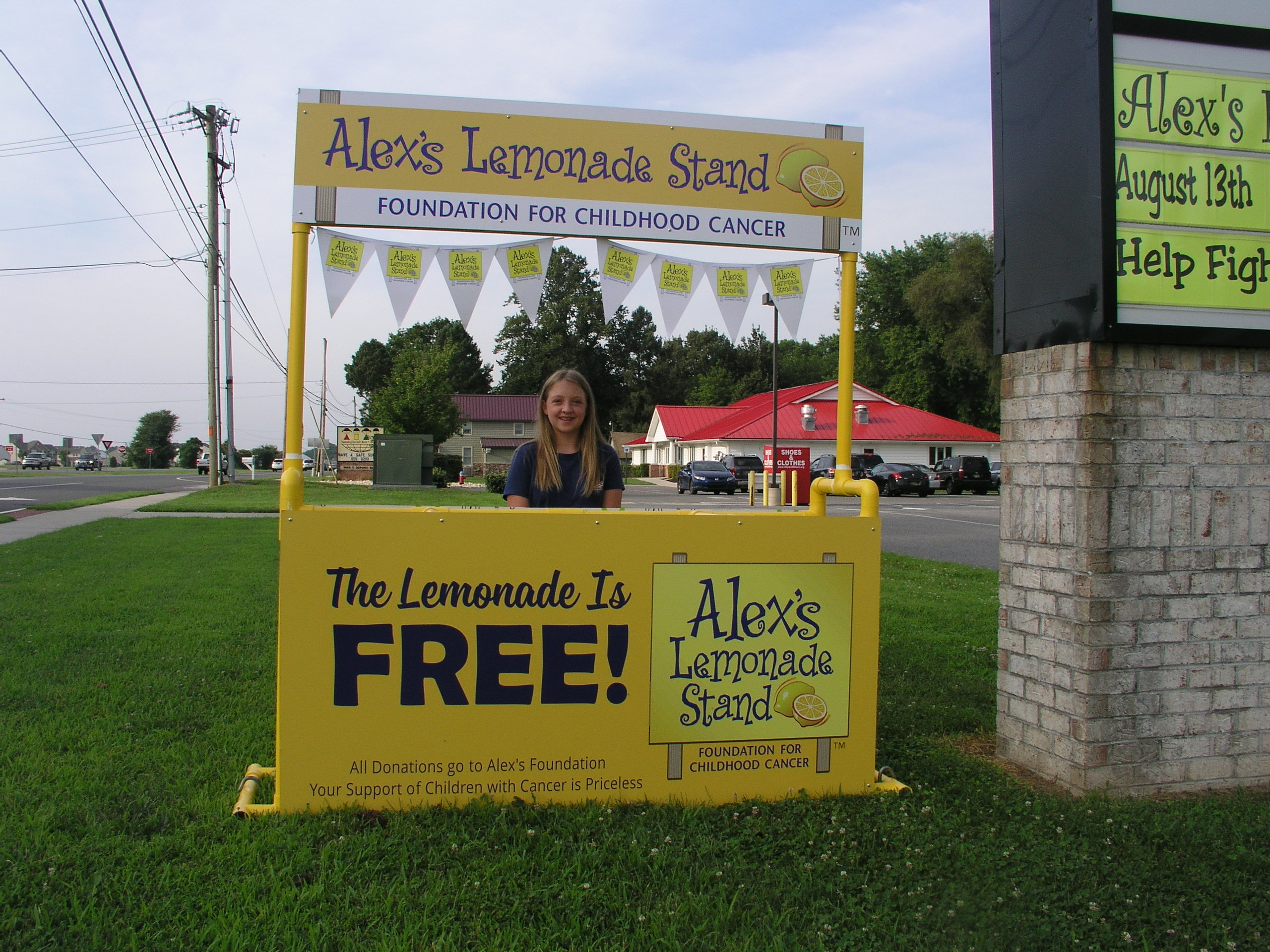 caitlyn 39 s lemonade stand for alex delmarvalife