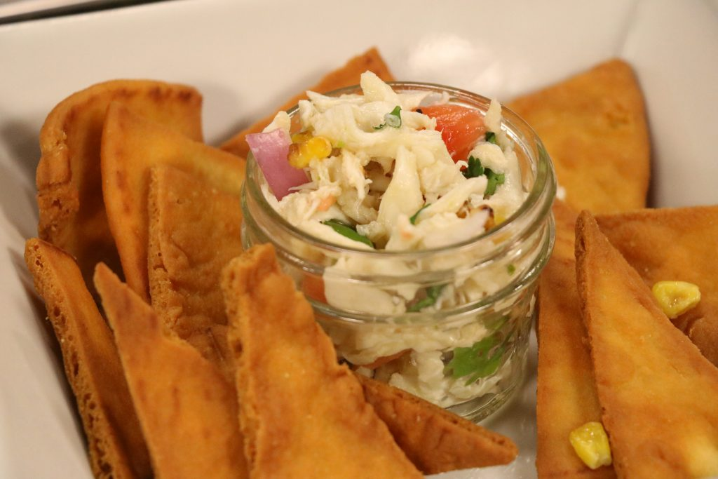 Musical Chef, Johnny Mo from Mallard's at the Wharf, Makes Jumbo Lump Eastern Shore Crab Salsa