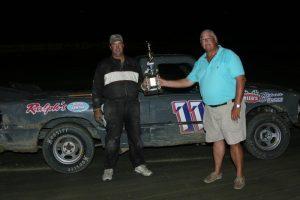Robert Reed Super Trucks Winner