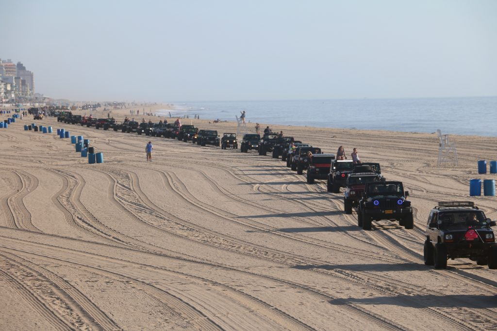 75 Years of Jeeps Displayed at Ocean City Jeep Week