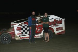 Napa Big Block Modified Winner Matt Hawkins