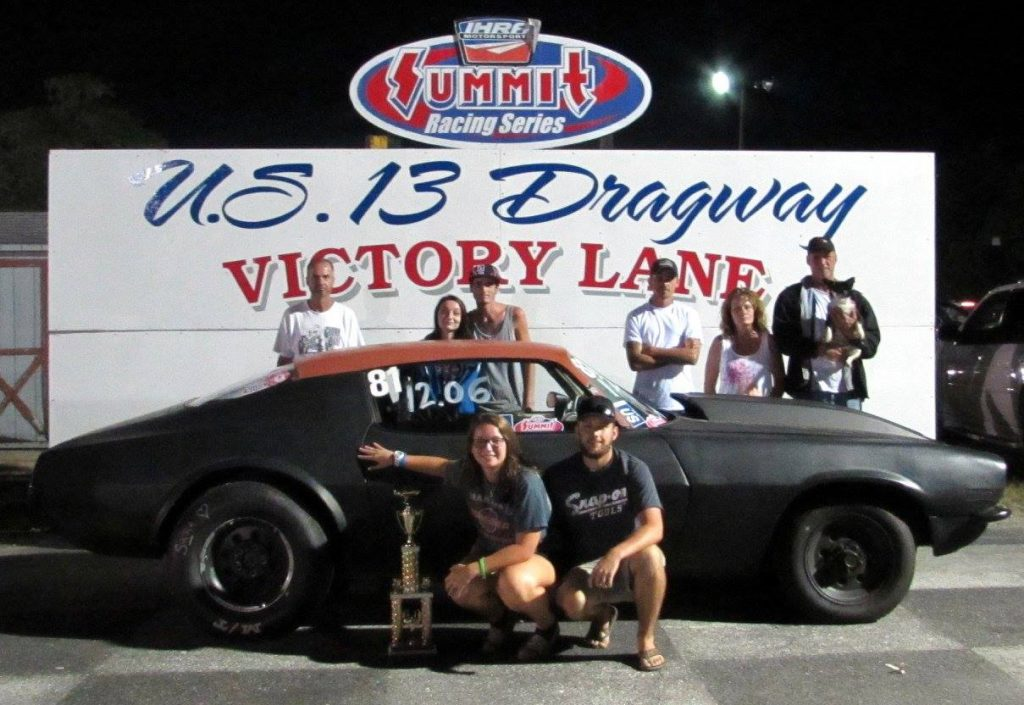HOT ROD TROPHY SARA DAVIS