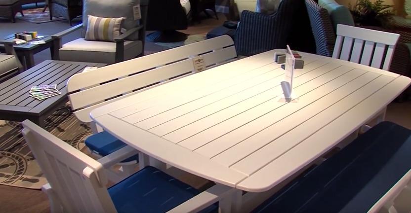 Johnny Janosik Patio Furniture Signature Design Salceda Outdoor Sectional With Signature