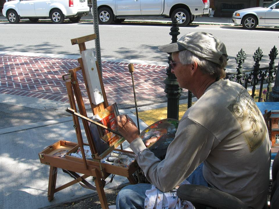 Artists Gather in Downtown Berlin for Paint Berlin- Plein Air Competition