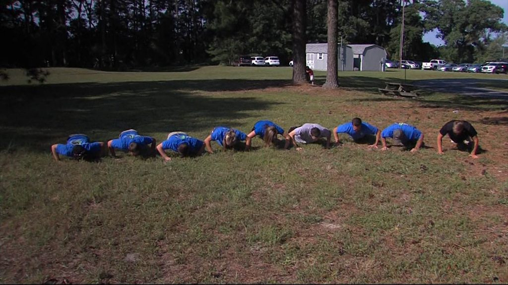Delmarva Participates in #22pushups Challenge, Honoring Those Who Serve