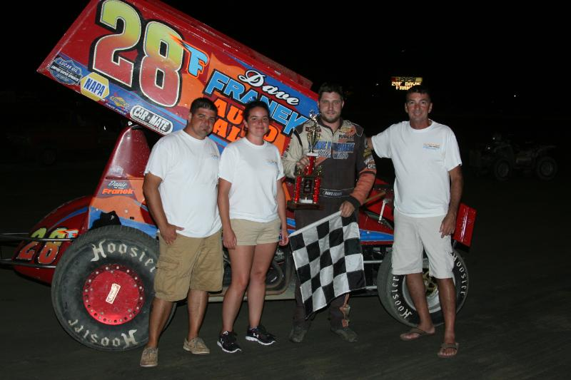 Dirt Track: Franek Wins URC Springs: Delaware International Speedway