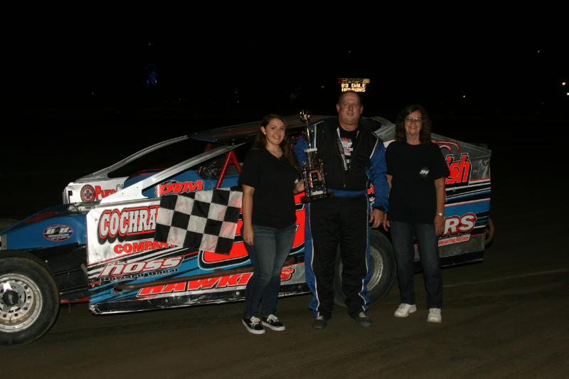 Dirt Track: Dale Hawkins Wins Napa Big Block Modified: Delaware International Speedway