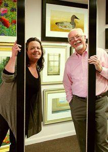 Gallery Owners Carol and Tony Boyd-Heron