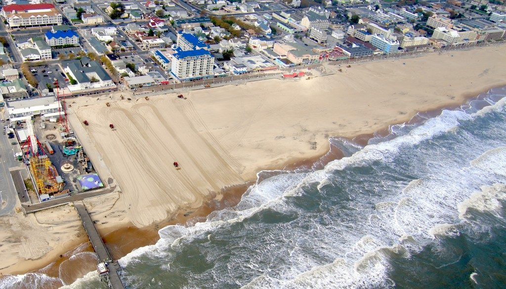 Ocean City Plans for Dune Fences, Beach Replenishment in 2017