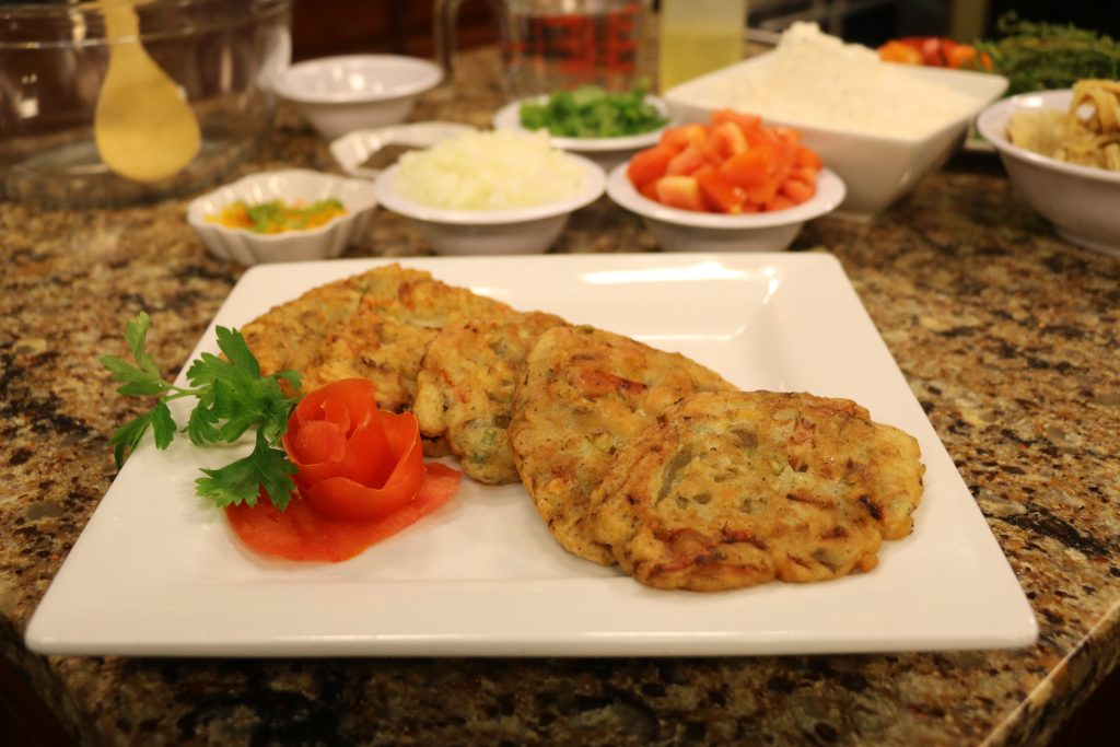 Jamaican Saltfish Fritters with Reggae Soul Cafe