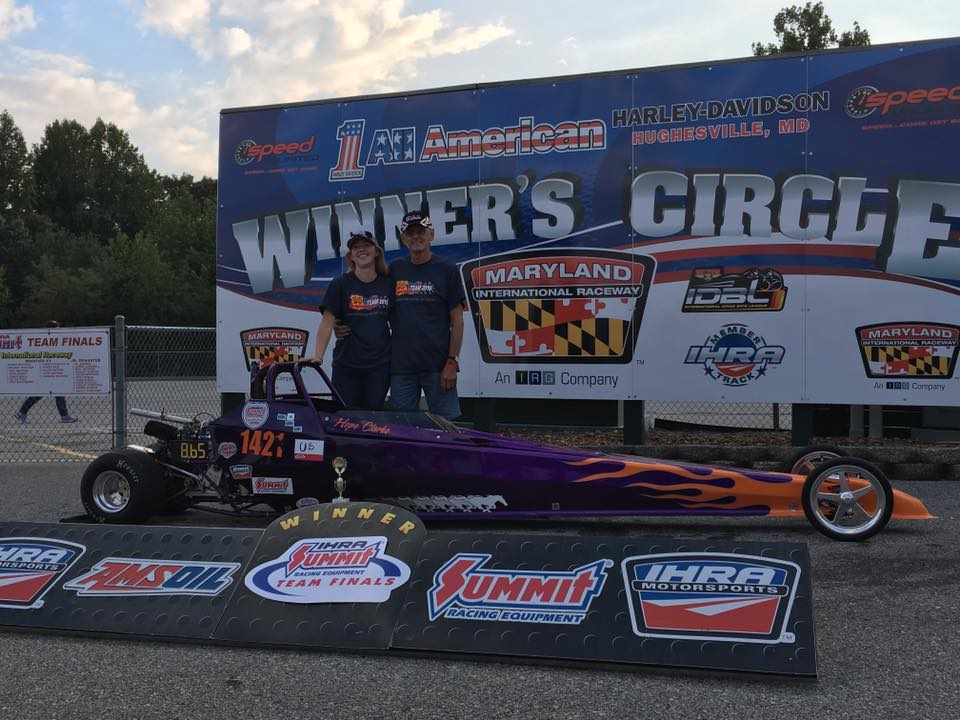 Drag Racing: Clarke Finishes Second in IHRA Division 1 Team Finals