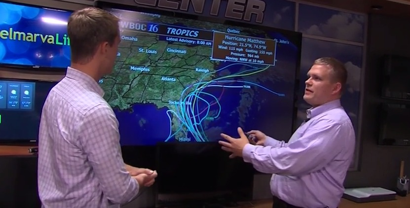 WBOC Meteorologist, Mike Lichniak, Tells Us How to Track the Storm