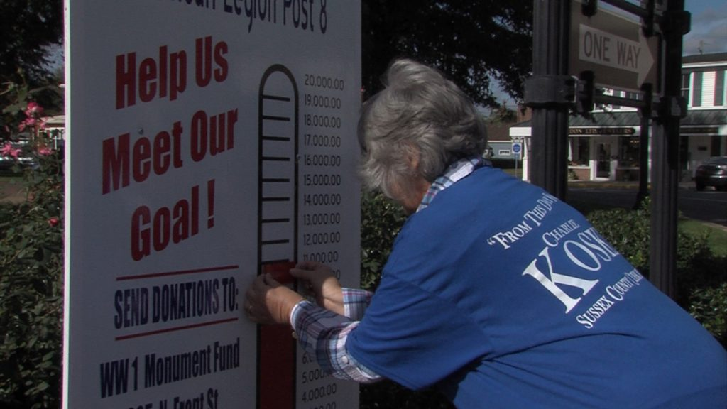 American Legion Post Raises Funds for WWI Memorial