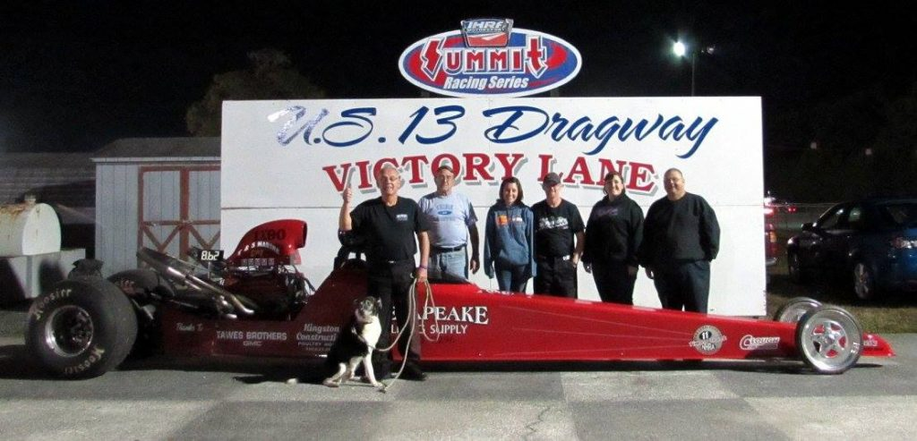 Drag Racing: Clough Takes Top ET Win: U.S. 13 Dragway