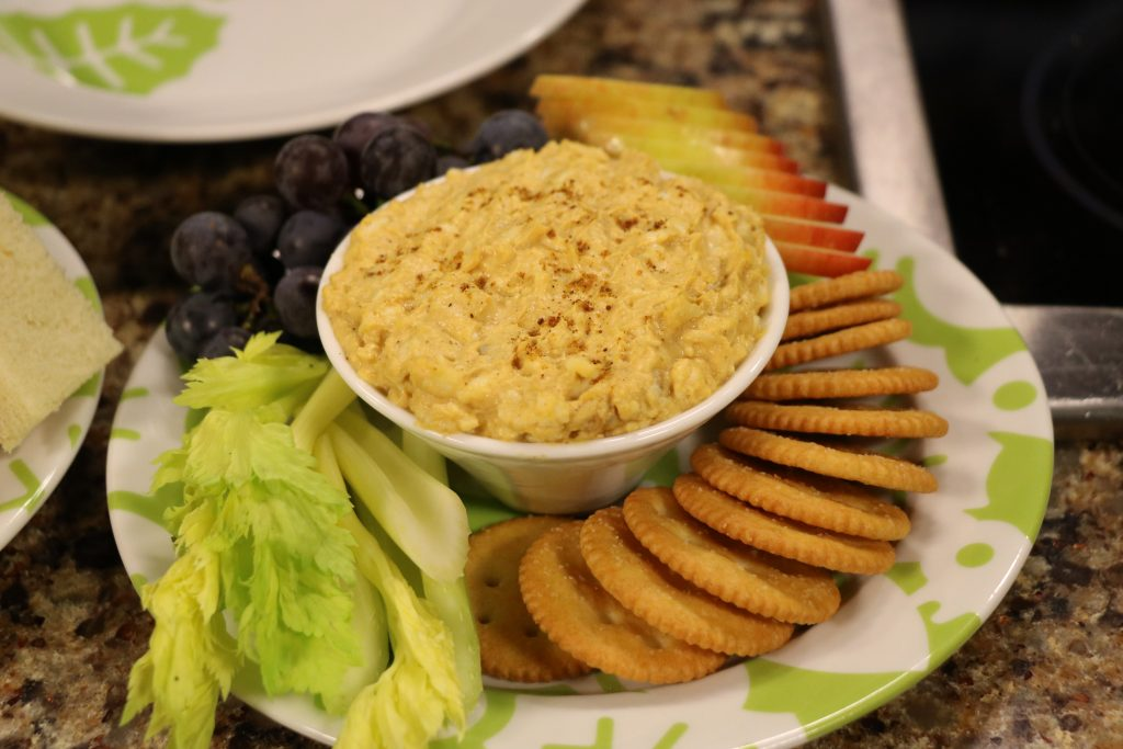 Pumpkin Walnut Cheddar Spread with the Lewes Yacht Club