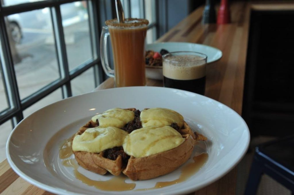 Chesapeake & Maine Puts Off-Centered Touch on Weekend Brunch