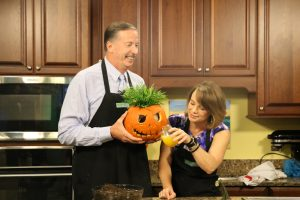 We're showing you what to do with your leftover pumpkins!
