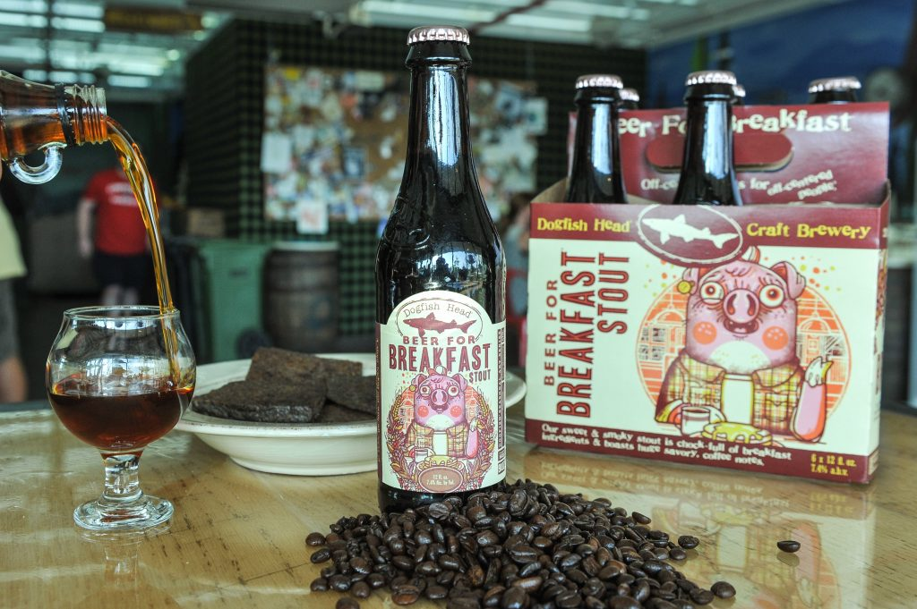 Dogfish Combines Breakfast Ingredients & Chicory Stout in 'Beer for Breakfast'