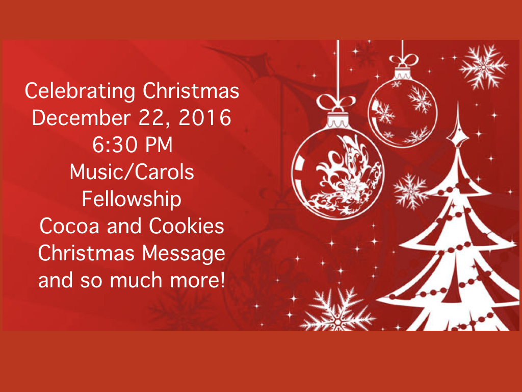 peninsula community church at 28574 cypress road in selbyville de invites you to a evening of celebration on december 22 2016 at 630 pm