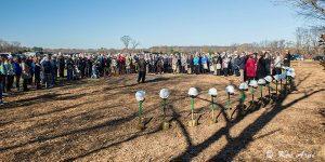 The shovel brigade was courtesy of Bancroft Construction. (Photo credit: Ken Arni)