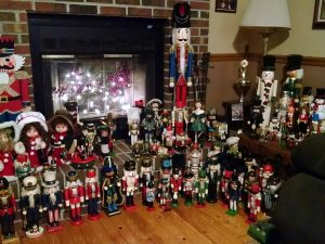 A Nutcracker Christmas, Bob and Maria Swift of Crisfield, Maryland.