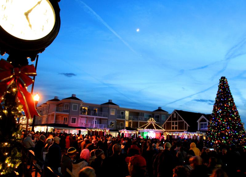 Weekend Wonderland in Bethany Beach Keeps Town Alive During Off-Season