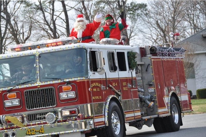 Milford's Carlisle Fire Company Holds Operation Santa Run