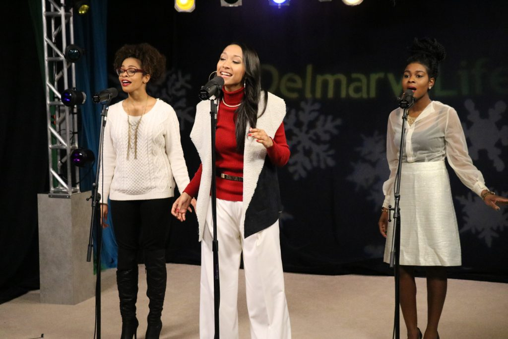"BriaMarie Performs ""All I Want for This Christmas"" and ""Learn to Love You"""