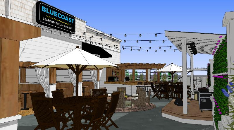 Construction to Begin on Bluecoast Seafood Grill in Rehoboth