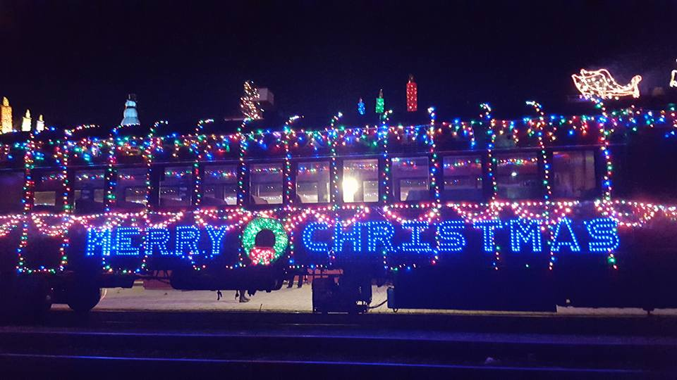 Holiday Light Trains Sell Out for Wilmington & Western's 50th Anniversary