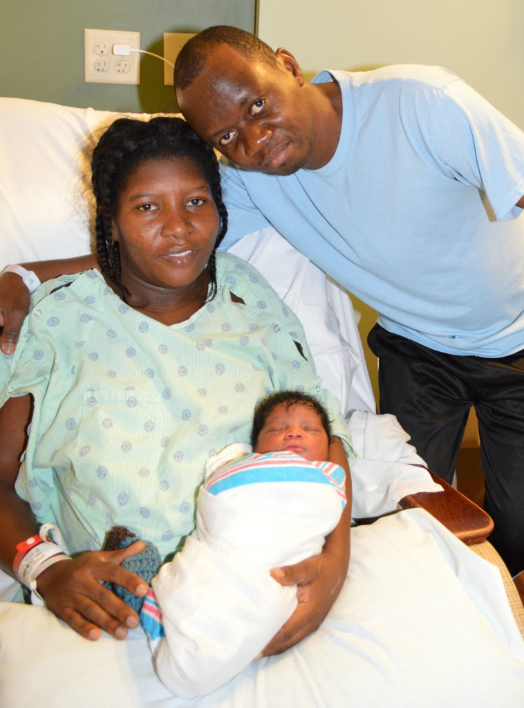 Peninsula Regional Medical Center Welcomes First Baby of 2017