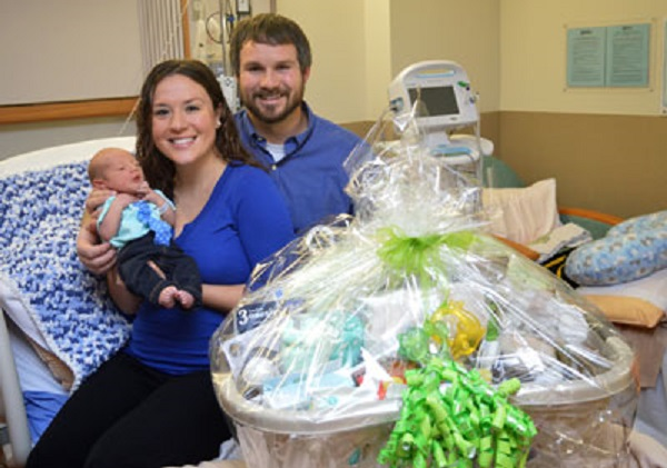 Beebe Healthcare Welcomes First Baby of 2017