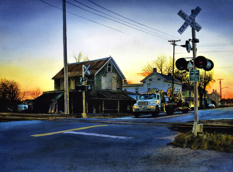 Delaware Native's Artwork Recognized as '26 Best Watermedia Paintings of 2016′
