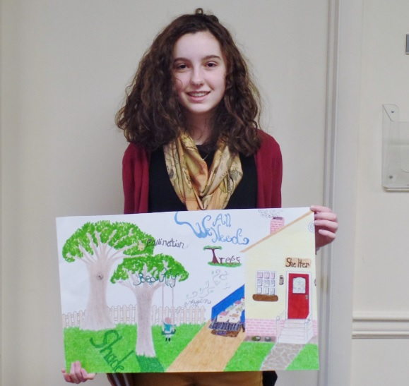 Sussex County Student's Artwork Picked for National Poster Contest