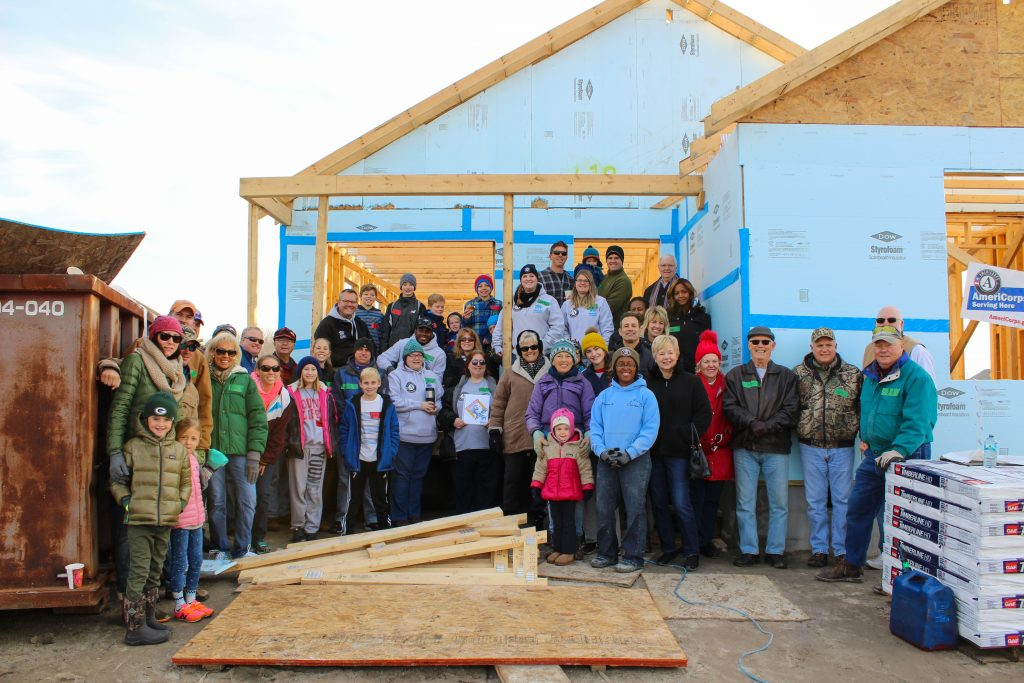 Habitat for Humanity Builds on MLK Day 9 Years and Counting