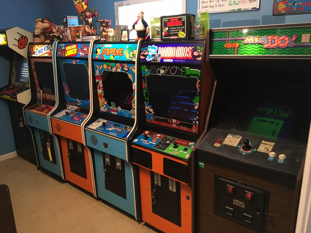 """Show and Tell – """"Mattcade,"""" Classic Arcade Games"""