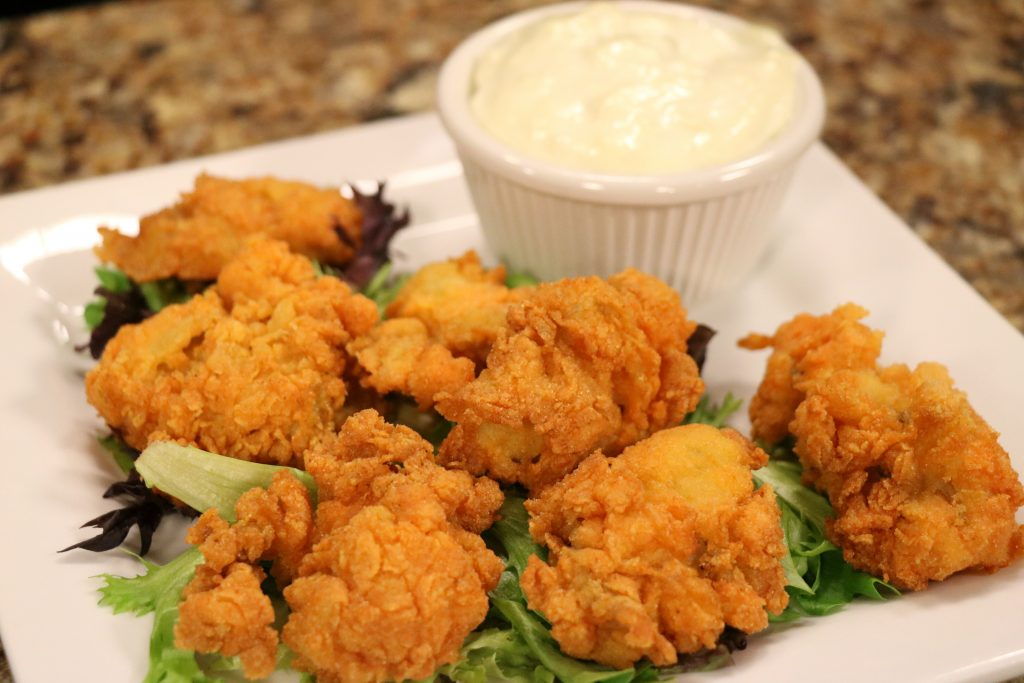 Buffalo Fried Oysters with Suicide Bridge Restaurant