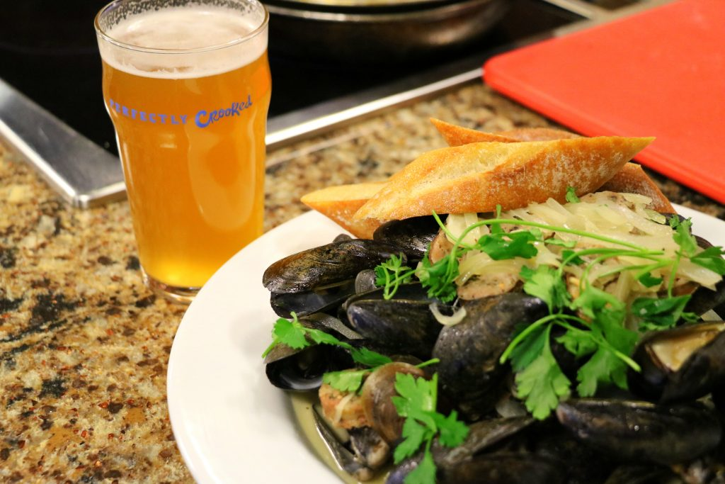 Beer Tasting and Wai Ola Beer Mussels with Crooked Hammock Brewery