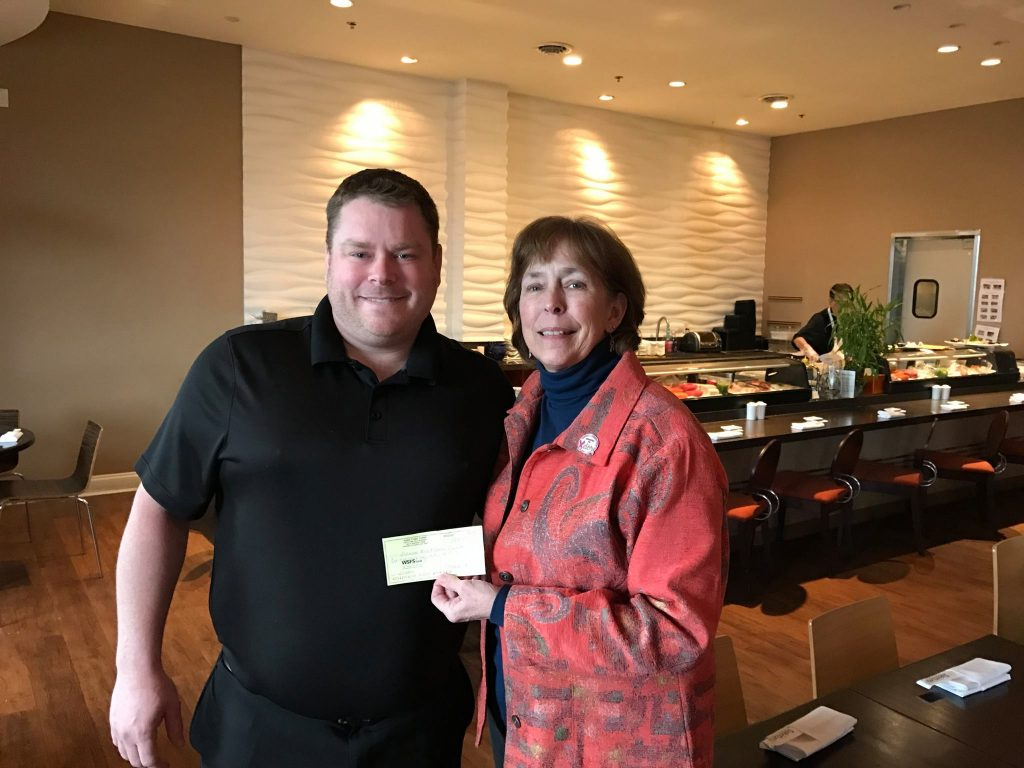 Rehoboth Beach Restaurant Donates $1,000 to Delaware Breast Cancer Coalition