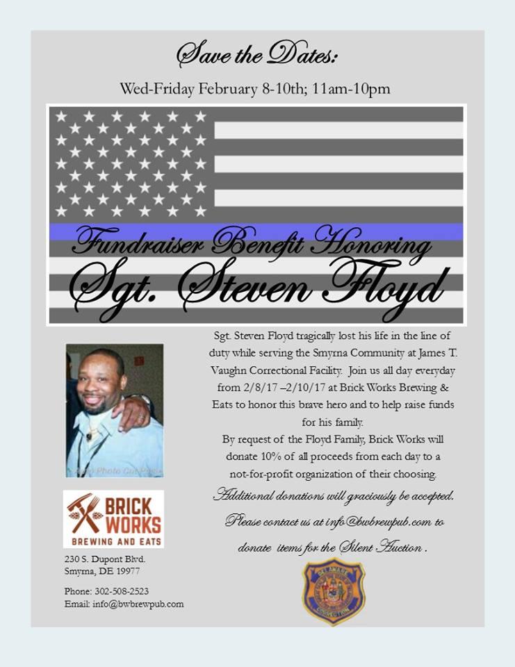 Smyrna Restaurant Holds Fundraiser in Honor of Fallen Correctional Officer