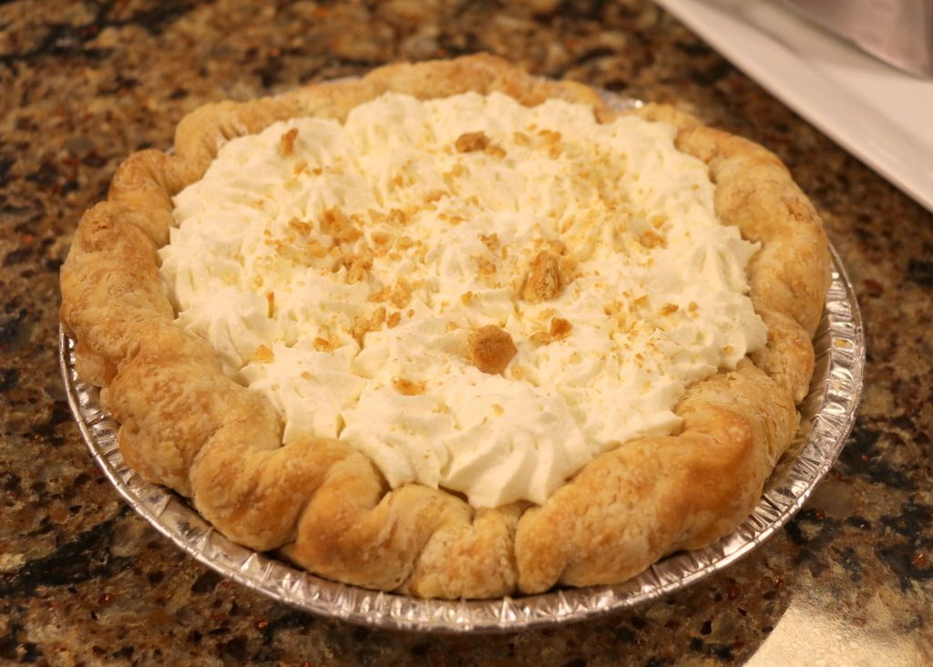 Banana Creme Pie with The Ugly Pie