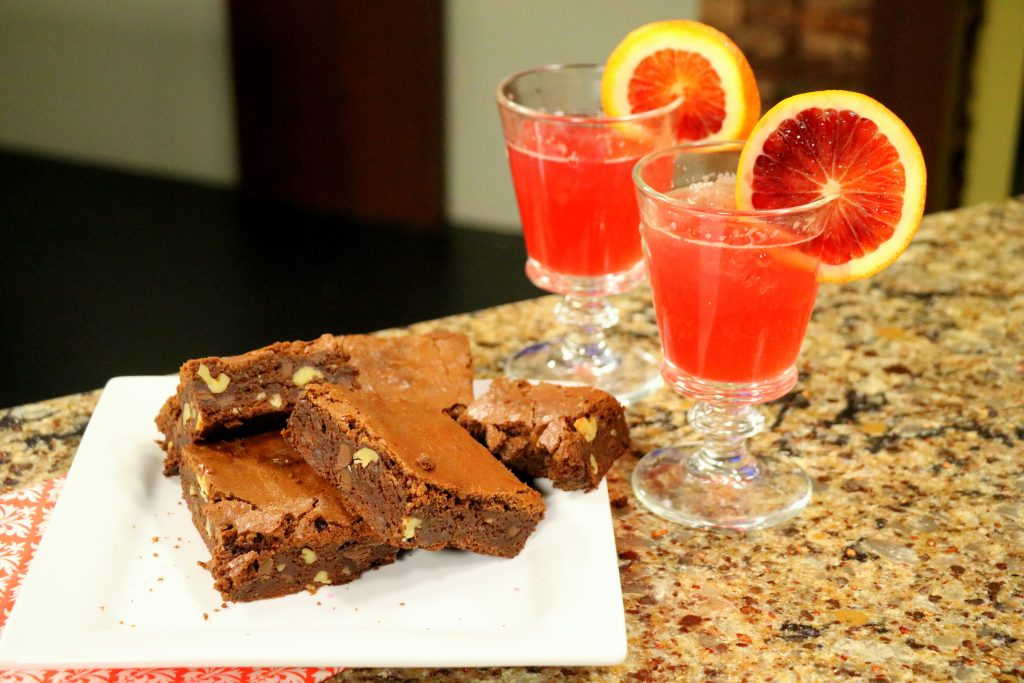 "Blood Oranage Margaritas and Chocolate Brownies with ""Tide and Thyme"" Food Blogger, Laura Davis"