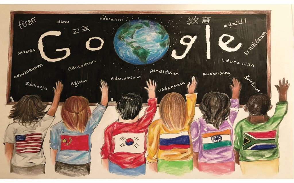 "Caesar Rodney Student finalist in ""Doodle 4 Google"" National Competition"