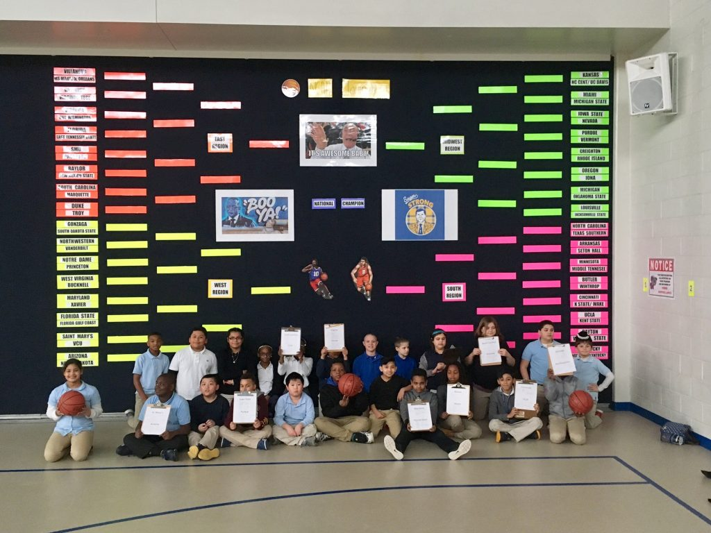 Prince Street Elementary in Salisbury Gets Students Involved in College Basketball Tournament