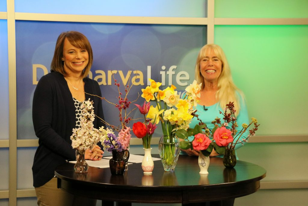 Gardening Expert Ginny Talks About Spring Flowers in Bloom and Answers Viewer Questions