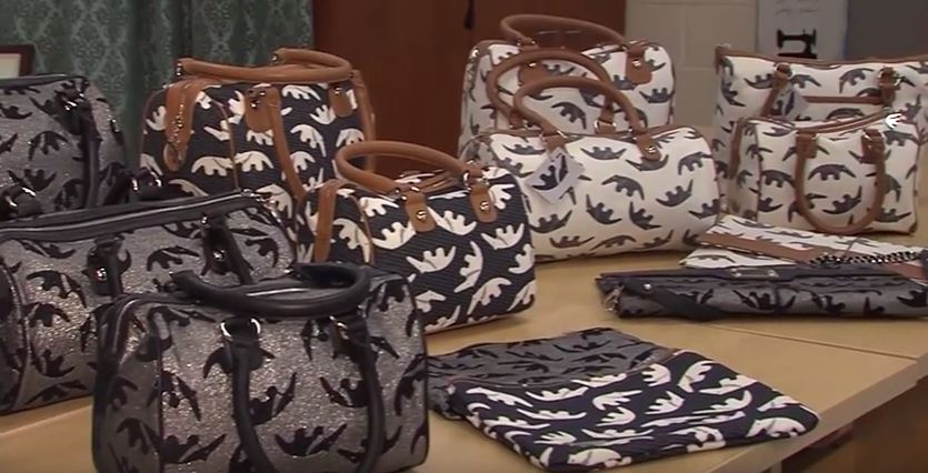 Anteater Handbags Designed by Bethany Beach Woman Make an Appearance at the Oscars